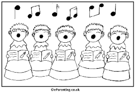 christmas colouring pages free printable coloring pictures