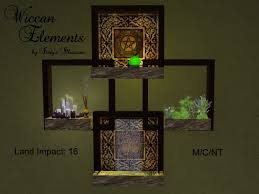 wiccan home decor second life marketplace wiccan elements wall decor 16 land impact