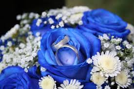 blue flowers for wedding blue wedding flowers blue wedding flower ideas blue colored