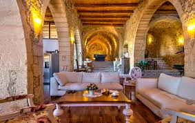 chic stay luxury traditional villa in old oil mill maroulas greece