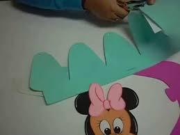 como hacer gorras de fomix del cars diy minnie mouse gorra en foami goma eva microporoso 3ra parte