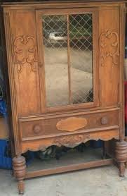 antique liquor cabinet 625 00 via etsy pickup in la from old