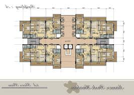 Floor Plans With Measurements Home Design Apartment Building Floor Plans With Dimensions