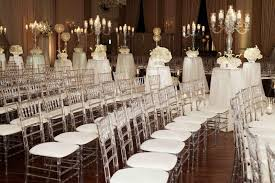wedding chairs ceremony décor photos lucite ceremony chairs inside weddings