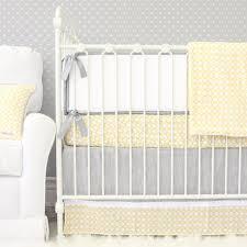 Nursery Bedding Sets Neutral by Ryan U0027s Yellow U0026 Gray Crib Bedding Caden Lane