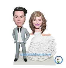 custom wedding cake toppers and groom custom wedding cake topper groom and bobbleheads wedding