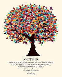 mother and daughter long distance print mother u0027s day gift for mom
