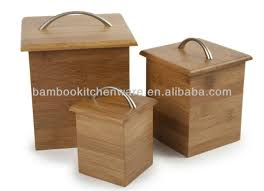 bamboo canister set bamboo canister set suppliers and