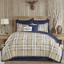 Woolrich Home Comforter Woolrich Feather Plaid Comforter Set U0026 Reviews Wayfair