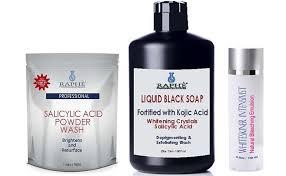1 5lbs salicylic acid whitening powder wash liquid black soap