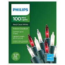 philips 100ct frosted white clear string lights target