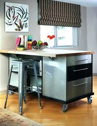 movable kitchen islands with seating excellent rolling kitchen island with seating mydts520 com