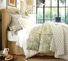 king wingback bed king tufted wingback velvet upholstered bed