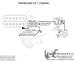 guitar wiring diagrams 1 pickup wiring diagram and schematic design