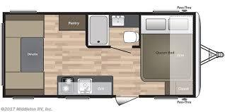 Springdale Rv Floor Plans 150963 2018 Keystone Springdale Summerland Mini 1750rd For Sale