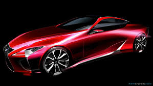 pictures of lexus lf lc the production showcar designing the lexus lc 500