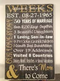 50th anniversary gift gifts for 50th wedding anniversary wedding ideas