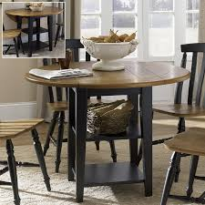 shop liberty furniture al fresco wood round extending dining table
