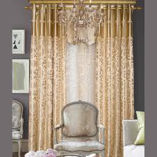 european style light gold polyester jacquard floral bedroom or