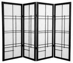 White Room Divider Screen with Japanese Room Dividers Screens 4 Tall Eudes Shoji Screen And By 6
