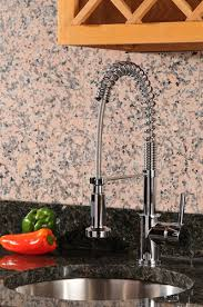 pre rinse kitchen faucets gourmetier single handle pre rinse pull kitchen faucet gs8881dl