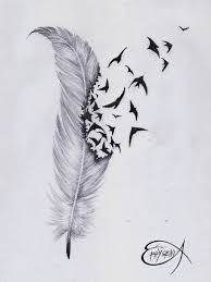raven feather tattoo sketch photo 3 photo pictures and