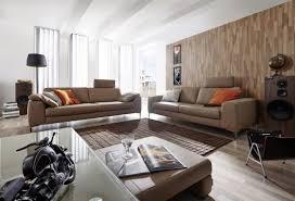 grand canapé grand canapé 3 places design en cuir idyl