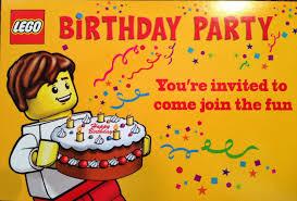 Make Invitation Card Lego Birthday Party Invitations Theruntime Com