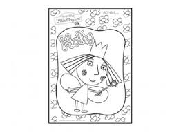 holly colouring picture ben u0026 holly u0027s kingdom ichild