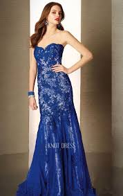 royal blue mermaid sweetheart neckline lace overlay 2015 evening