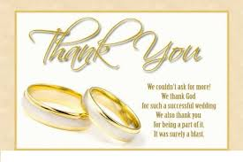 thank you notes for wedding gifts wedding thank you card exles free card