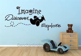 wall decals stickers home decor home furniture diy imagine discover explore boys room decor wall vinyl decal wall sticker words