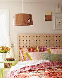 wonderful cherry wood veneer lampshade drum shape floral pattern