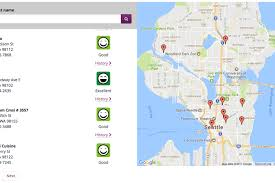 seattle map restaurants you can now map food safety of local restaurants in king county