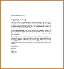 donation request letter donation request letter sample donation