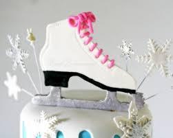 Hockey Cake Decorations Winter Wonderland Ice Skating Cake Rose Bakes