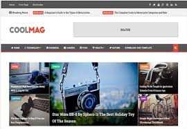 free magazine blogger template 80 best free blogger templates 2018 wpshopmart