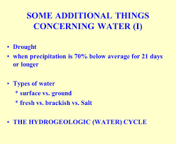 biology 403 principles of ecology water cycle use treatment