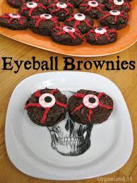 halloween eyeball brownies organized 31
