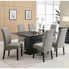 Coaster Dining Room Chairs Stanton Dining Room Set With Gray Chairs Coaster Furniture