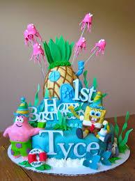 spongebob birthday cakes spongebob cake cakecentral