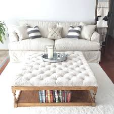 living room furniture ta ottoman as coffee table appealing fabric oversized ottoman coffee