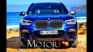 suv all new 2018 bmw x3 m40i 370 hp g01 l exterior l interior