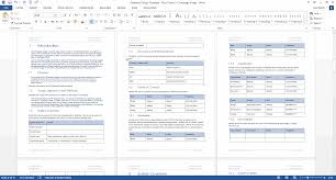 functional requirements specification ms word excel template sheet