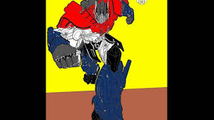 speed coloring how to color optimus prime coloring pages