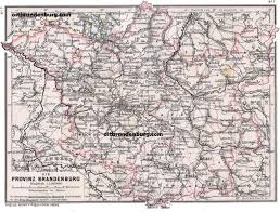 Maps Germany by Old Maps Of Brandenburg Germany