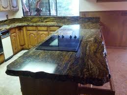 Kitchen Backsplash Ideas With Santa Cecilia Granite Granite Countertop Pine Wood Cabinet Ceramic Tile Patterns For