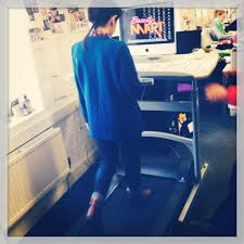 Treadmill Desk Diy by Victoria Beckham And I Try Out The Treadmill Desk U2013 And Why