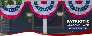 get patriotic buntings and american flags at independence bunting