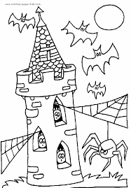 25 halloween coloring pictures ideas